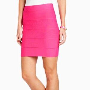 new// BCBG Maxazria   Pink Pencil Skirt